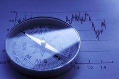 Richting voor rijkdom royalty-vrije stock foto