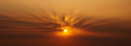 In Richtung auf die Sonne Stockfotografie