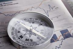 Richtung für Reichtum Stockfotos