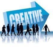 Richtung - kreativ lizenzfreie abbildung
