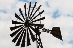 Richtung und Geschwindigkeit des Winds, Schaufel Stockfotografie