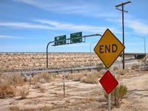 Richtungen in Kalifornien Lizenzfreie Stockbilder
