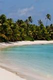 Richtungs-Insel-Strand Stockbild