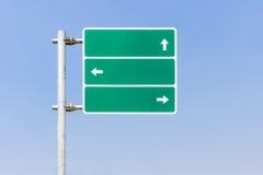 Richtungsverkehr Signage Lizenzfreie Stockfotos