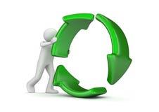Riciclaggio Immagine Stock