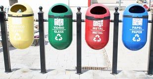 riciclaggio Fotografie Stock
