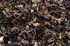 Riciclaggio degli oggetti della ruggine Fotografie Stock