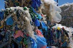 Riciclaggio dei sacchetti di acquisto Immagine Stock Libera da Diritti