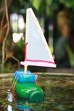 Riciclaggio del giocattolo dei bambini Fotografie Stock Libere da Diritti
