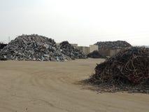 Riciclaggio del metallo Fotografia Stock
