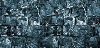 Riciclaggio del metallo Immagini Stock