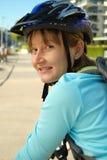 Riciclaggio del percorso della bici Fotografie Stock Libere da Diritti