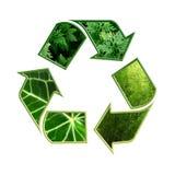 riciclaggio del simbolo Fotografia Stock