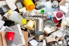 Riciclaggio dell'immondizia Fotografia Stock Libera da Diritti