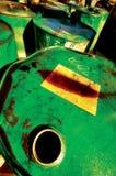 Riciclaggio dell'olio Immagine Stock