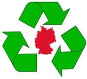 Riciclaggio della Germania Fotografia Stock
