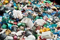 Riciclaggio della plastica Fotografia Stock Libera da Diritti