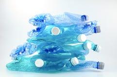 Riciclaggio della plastica Fotografia Stock