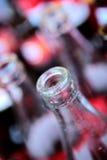 Riciclaggio delle bottiglie Immagini Stock