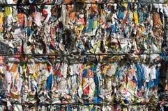 Riciclaggio dello scomparto Fotografie Stock Libere da Diritti