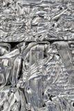 Riciclaggio di alluminio Immagini Stock