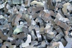 Riciclaggio di alluminio Immagine Stock