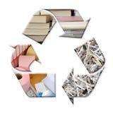 Riciclaggio di carta Fotografia Stock