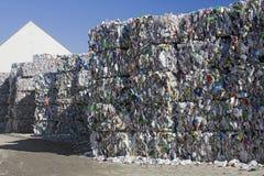 Riciclaggio di plastica Immagini Stock Libere da Diritti