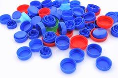Riciclaggio di plastica. Immagine Stock