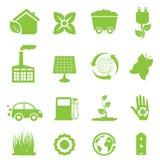 Riciclaggio e energia pulita Fotografia Stock Libera da Diritti