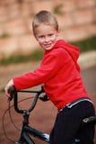 Riciclaggio felice del ragazzo Fotografia Stock Libera da Diritti