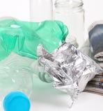 Riciclaggio immondizia e dello spreco riutilizzabile Immagini Stock Libere da Diritti