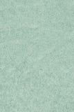 Ricicli il campione leggero di carta di struttura di lerciume di Emerald Green Extra Coarse Grain Fotografie Stock