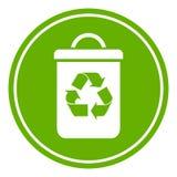 Ricicli il secchio della spazzatura Fotografia Stock Libera da Diritti