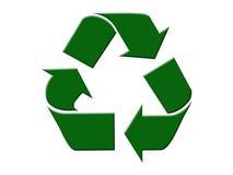 Ricicli il simbolo Fotografia Stock Libera da Diritti