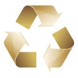 Ricicli il simbolo dell'icona di marrone di conservazione Royalty Illustrazione gratis