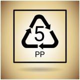 Ricicli il simbolo Logo Web Icon Immagini Stock