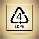 Ricicli il simbolo Logo Web Icon Fotografie Stock Libere da Diritti