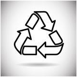 Ricicli il simbolo Logo Web Icon Immagini Stock Libere da Diritti