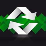 Ricicli il simbolo Ricicli il vettore di simbolo Ricicli l'immagine di simbolo Fotografia Stock