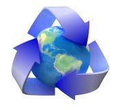 Ricicli l'ecologia Immagine Stock