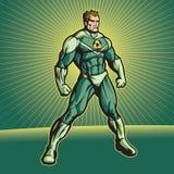 Ricicli l'eroe (nessun capo) illustrazione vettoriale
