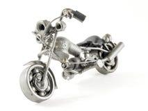 Ricicli la motocicletta Fotografie Stock