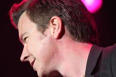 Rick Astley - voyagent ici et maintenant Photos libres de droits