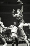 Rick Barry Golden State Warriors Hall Of Hame Player. Rick Barry Of the Golden State Warriors NBA Basketball team was a Hall Of Fame Player. Photo taken March stock photo