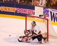Rick DiPietro, New York Islanders. New York Islanders goalie Rick DiPietro #39. (Image taken from color slide royalty free stock image