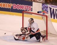 Rick DiPietro. New York Islanders goalie Rick DiPietro.  Image taken from a color slide Stock Image
