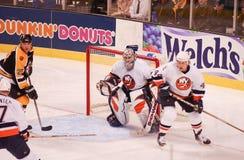Rick DiPietro. New York Islanders goalie Rick DiPietro.  Image taken from a color slide Stock Images
