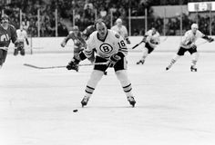 Rick Middleton, Boston Bruins. Stock Images