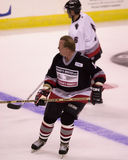 Rick Middleton, plays in a charity hockey game. Royalty Free Stock Photo